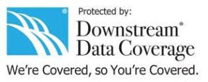 Protected by Downstream Data Coverage. We're Covered, So You're Covered.