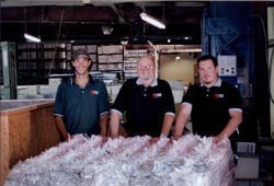 picture of first paper bale